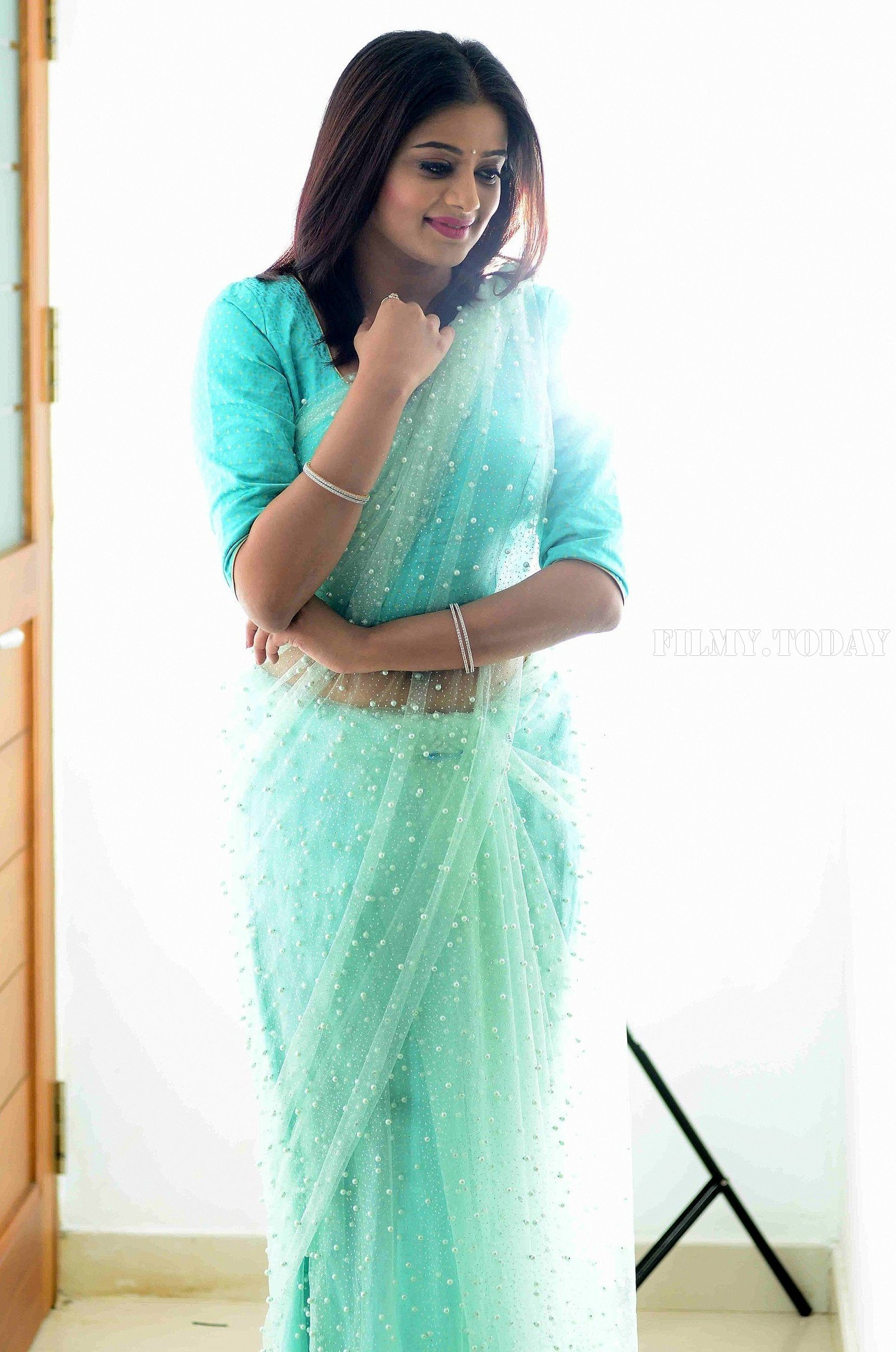 Actress Priya Mani Hot in Transparent Saree Photoshoot | Picture 1528086