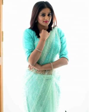 Actress Priya Mani Hot in Transparent Saree Photoshoot | Picture 1528083