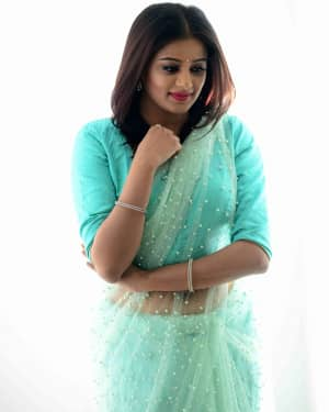 Actress Priya Mani Hot in Transparent Saree Photoshoot