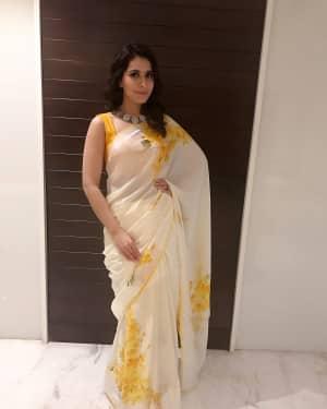Actress Rashi Khanna at Mohanlal's Villain Movie Audio Launch Photos | Picture 1528272