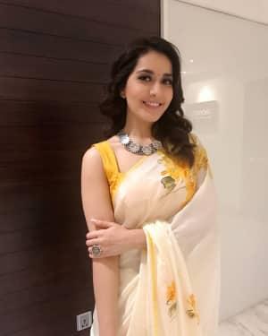 Actress Rashi Khanna at Mohanlal's Villain Movie Audio Launch Photos | Picture 1528282