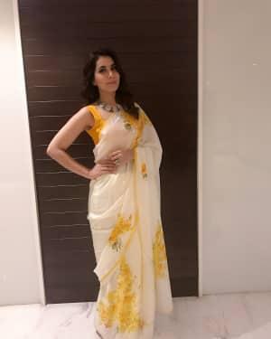 Actress Rashi Khanna at Mohanlal's Villain Movie Audio Launch Photos | Picture 1528278