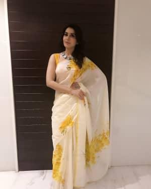 Actress Rashi Khanna at Mohanlal's Villain Movie Audio Launch Photos | Picture 1528274