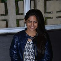 Naina Ganguly during Vangaveeti Movie Team Visits Devi Theater Photos