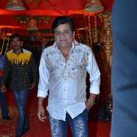 Ali - Producer Krishna Reddy Son Wedding Reception Photos