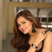 Aswini Poses in Black Dress Photos | Picture 1456072