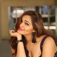 Aswini Poses in Black Dress Photos | Picture 1456082
