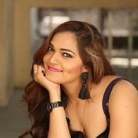 Aswini Poses in Black Dress Photos | Picture 1456075