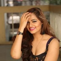 Aswini Poses in Black Dress Photos | Picture 1456084