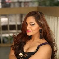 Aswini Poses in Black Dress Photos | Picture 1456079