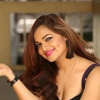 Aswini Poses in Black Dress Photos | Picture 1456083