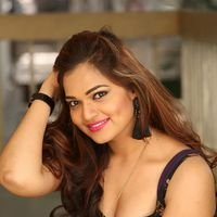 Aswini Poses in Black Dress Photos | Picture 1456087