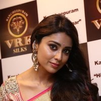 Shriya Saran Launches VRK Silks at Himatnagar Photos
