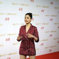 Actress Tamanna at the red carpet of H&M VIP Party Photos