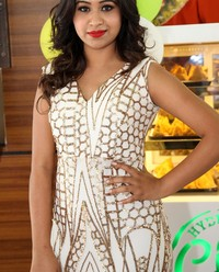 Manali Rathod at Hyderabadi Chai Adda Launch