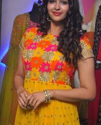 Poojitha Ponnada at Akruthi Designer Studio Launch Photos