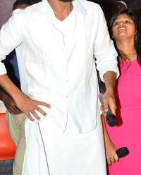 Rana Daggubati - Nene Raju Nene Mantri Movie team at Trendset Mall in Vijayawada Photos