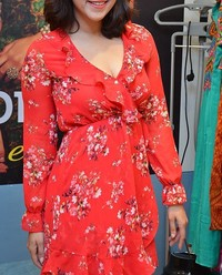 Actress Mannara Chopra at Breya Store Launch Photos