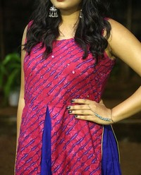 Actress Srushti Dange At Oy Ninne Audio Launch Photos | Picture 1522412