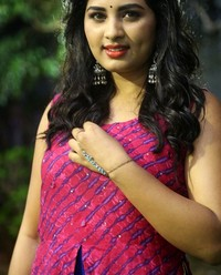 Actress Srushti Dange At Oy Ninne Audio Launch Photos | Picture 1522414
