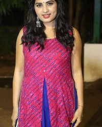 Actress Srushti Dange At Oy Ninne Audio Launch Photos | Picture 1522407
