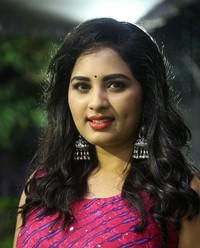 Actress Srushti Dange At Oy Ninne Audio Launch Photos | Picture 1522418