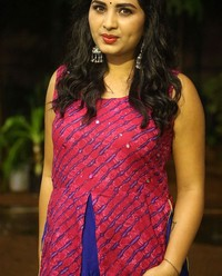 Actress Srushti Dange At Oy Ninne Audio Launch Photos | Picture 1522411
