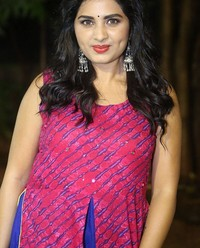Actress Srushti Dange At Oy Ninne Audio Launch Photos | Picture 1522400