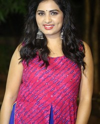 Actress Srushti Dange At Oy Ninne Audio Launch Photos | Picture 1522403