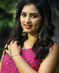 Actress Srushti Dange At Oy Ninne Audio Launch Photos | Picture 1522417