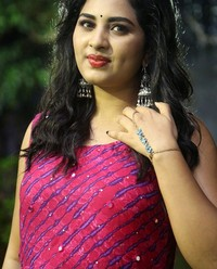 Actress Srushti Dange At Oy Ninne Audio Launch Photos | Picture 1522419