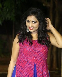 Actress Srushti Dange At Oy Ninne Audio Launch Photos | Picture 1522397