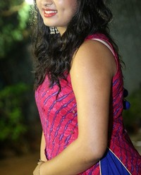 Actress Srushti Dange At Oy Ninne Audio Launch Photos | Picture 1522410