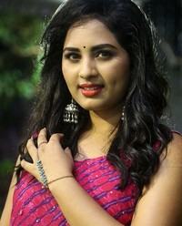Actress Srushti Dange At Oy Ninne Audio Launch Photos | Picture 1522415
