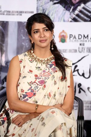 Lakshmi Manchu at Okkadu Migiladu Trailer Launch Photos