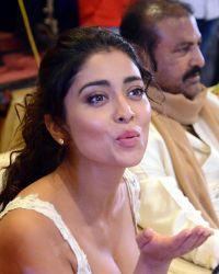 Actress Shriya Saran Hot at Paisa Vasool Movie Audio Success Meet Photos | Picture 1524103