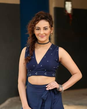 Actress Seerat Kapoor Stills at Okka Kshanam Teaser Launch