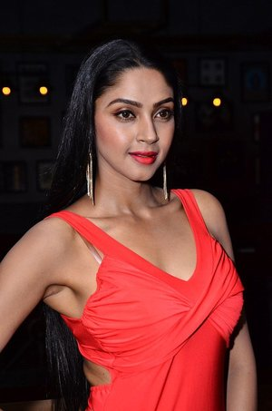 Actress Angana Roy Stills At Celebridge.in Launch