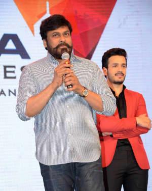 Chiranjeevi (Actors) - Hello Telugu Movie Pre Release Event Photos | Picture 1553035