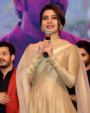 Samantha Ruth Prabhu - Hello Telugu Movie Pre Release Event Photos