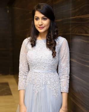 Actress Simran Sharma at EGO Telugu Movie Audio Launch Photos