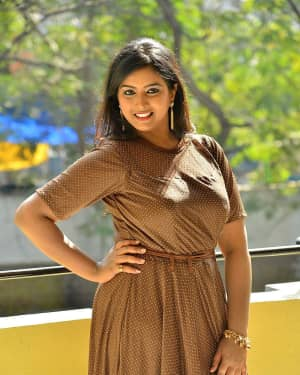 Actress Poorni at Student Power Movie Audio Launch Photos