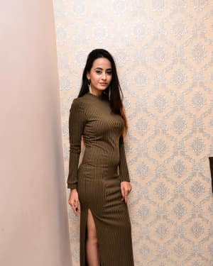 Actress Amiksha at New Year Bash 2018 Curtain Raiser Photos