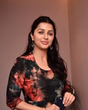 Actress Bhumika Chawla Stills at Shapes Style Lounge Press Meet