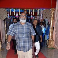 M. M. Keeravani - Telugu Celebs at Koti Son Rajeev Saluri Wedding Reception Photos