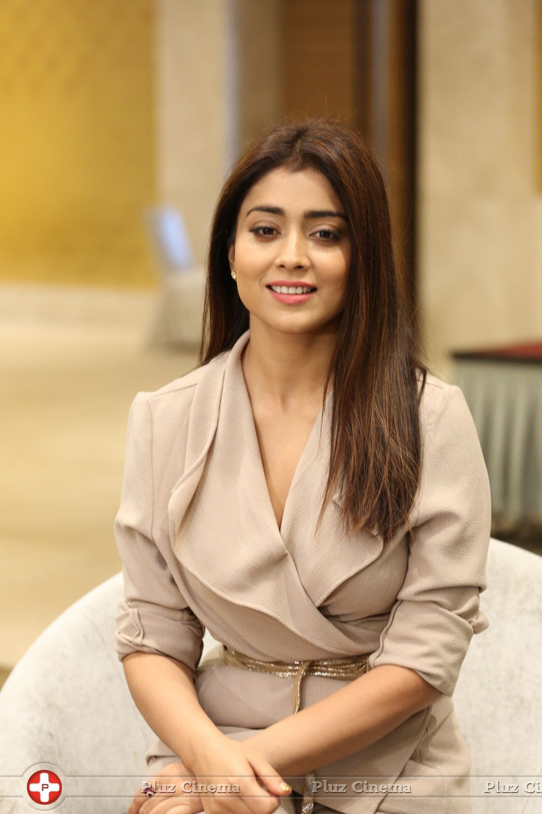 Shriya Saran @ NBK and Shriya Interview For Gautamiputra Satakarni Photos