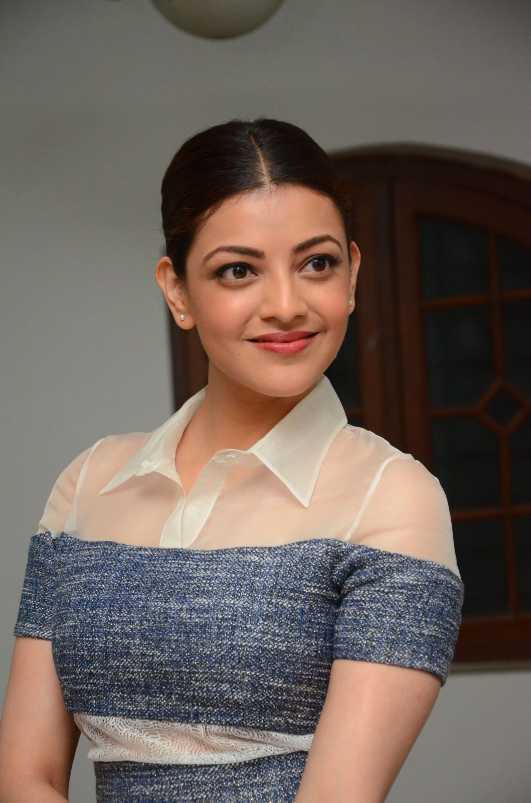 Kajal Aggarwal Special Interview For Khaidi No 150 Photos