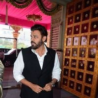 Venkatesh - TSR Grandson Keshav and Veena Wedding Reception Photos