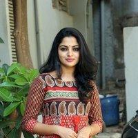 Actress Nikhila Vimal Stills at Meda Meeda Abbayi Movie Launch