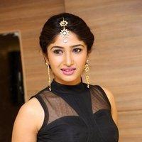 Roshini Prakash Hot In Black Top And White Skirt Photos